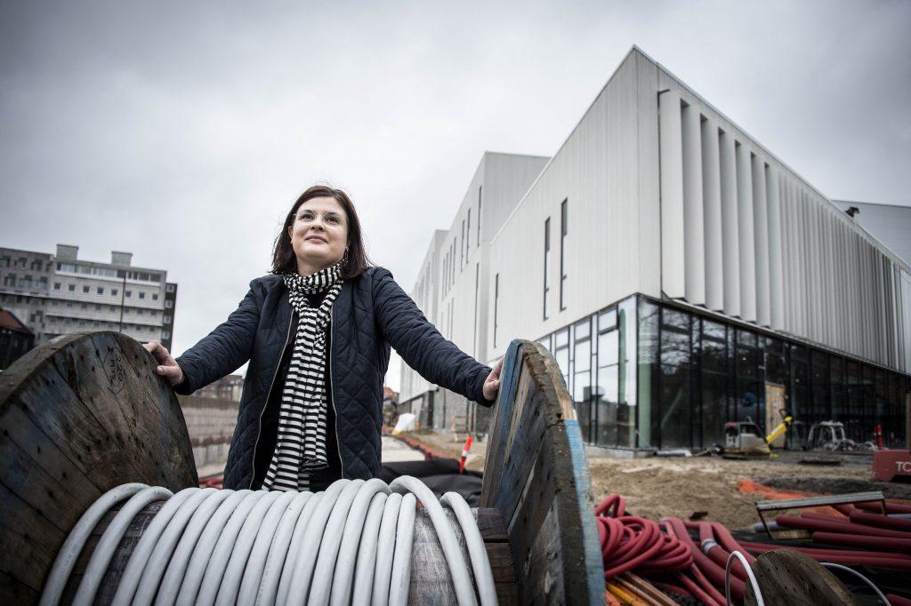 Kulturchef i Odeon og Odense Koncerthus Sara Ekknud. Foto: Peter Leth-Larsen